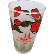 Kentucky Derby Mint Julep Glass 1986