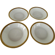 Four Theodore Havilland Limoges Berry Bowls France