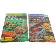 1963 Better Homes and Gardens Picnic BQ & Easy Meals Cookbooks