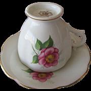 Royal Stewart Bone China English Rose Cup and Saucer