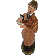"Sherlock Holmes Royal Doulton ""The Detective""  1976"
