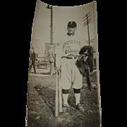 SOLD Vintage Baseball Player Photo -Petersen Classics Team 1920's