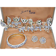 SALE 1967 Trifari Pet Series.....A TRULY COMPLETE SET/Trifari Presentation Box Included ****IM