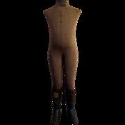 "Victorian Child Mannequin c.1895 Antique Dress Form 44"""