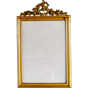 Gilt Bronze Picture Frame c1870 Antique Rococo Ormolu