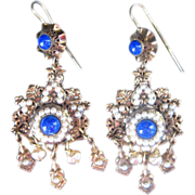 Vintage Victorian Revival Earrings