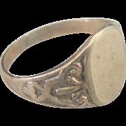 Antique Victorian 10kt Signet Ring