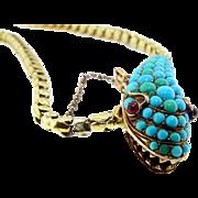 Antique Snake Necklace