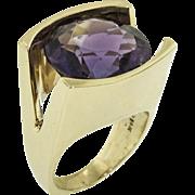 Custom Made Amethyst Ring