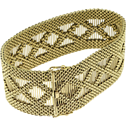 Superb BRY & Cie French 18k Yellow Gold Bracelet