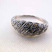 Stunning BIRKS Platinum and Diamond Ring