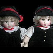 Suzanne Gibson Doll  Twins Paul & Pauline  Signature Edition set MIB