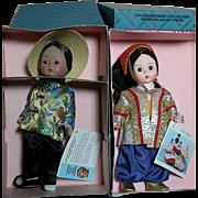 Madame Alexander Doll MIB China and Turkey  International Dolls