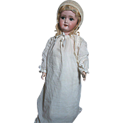 German Bisque Doll Schoenau & Hoffmeister Sweet Faced Doll Composition Body