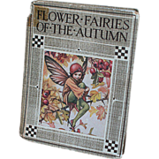 SOLD Beautifully illustrated Children's book by Cicely Mary Barker Flowers Fairies of the Autu