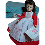 Madame Alexander Doll Jo Little Women in Original box