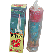 Pifco Space Cadet Flashlight Signal Siren In Original box Empire Made