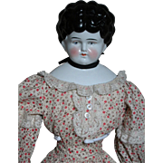 """Lovely German Shoulder Head  China Doll  22"""" Tall 1860"""