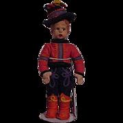 SOLD Lenci Mascotte Male Doll