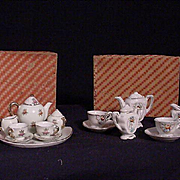 REDUCED Two Vintage Tea Sets In Original Boxes