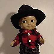 SALE PENDING Advertising Doll Buddy Lee Cowboy