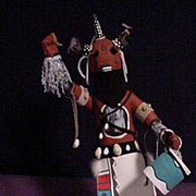 REDUCED Native American Kachina Called Mud Head