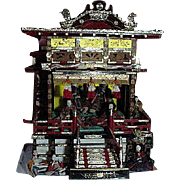 REDUCED Vintage Japanese Hina Palace With Ten Figures
