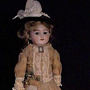 REDUCED Simon and Halbig 1250 In Vintage Costume