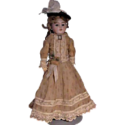 SOLD Simon and Halbig 1250 In Vintage Costume