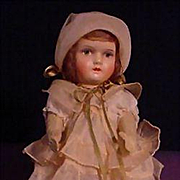 SALE PENDING Very Pretty Papier Mache Child