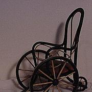 SALE Vintage Doll Wheel Chair