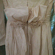 """REDUCED REDUCED Vintage BRIDE  Ivory 1930s Womens Wedding Dress Gorgeous sz small 24"""" wai"""