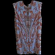 Vintage Womens Mod 60s sequin Rhinestone beaded Mini Dress Haute couture  Run way fashion
