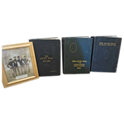 SALE Lucky Bag Naval Academy 1924 25 26 year Books w original Photograph