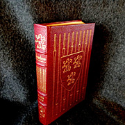Leather Bound  Book * Ivanhoe * by Sir Walter Scott