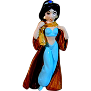 Princess Jasmine of Aladdin Porcelain Figurine
