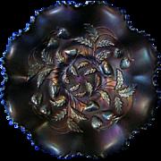 Northwood Carnival Glass  * Strawberry Pattern * Bowl