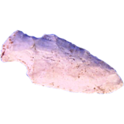 2 & 1/2 Inch Hardin Arrowhead Indian Artifact