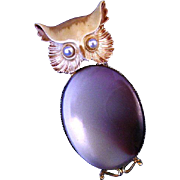 Owl Brooch Original by Robert