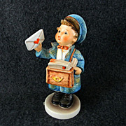 Postman Eilbote Hummel Figurine Artist Signed