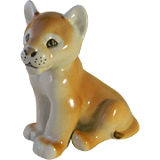 USSR Lomonosov Russian Lion Cub Porcelain Figurine