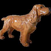 "Beswick Cocker Spaniel Figurine  ""Horseshoe Primula"""