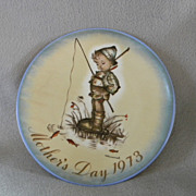 Original Hummel 1973 Mother's Day Plate