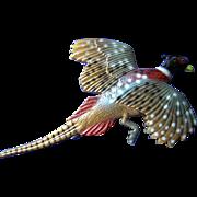 Beautiful Pheasant Brooch or Broach
