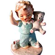 Goebel Blonde Figurines Sleepy Head by Charlotte Byj