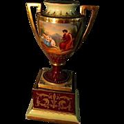 Royal Vienna Urn  circa 1800's