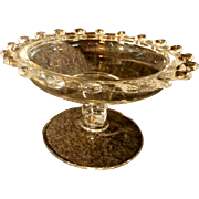 Heisey Lariat Pedestaled Candy Dish
