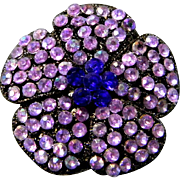 Pretty Lavender Brooch or Pendant