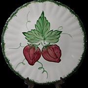 Blue Ridge Southern Potteries Wild Strawberry Dinner Plate