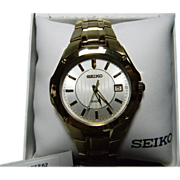 Seiko Model 100M Men's Wrist Watch**Original Box and Papers**